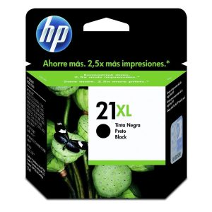 Cartucho HP 21 XL preto