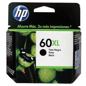 Cartucho HP 60 XL preto