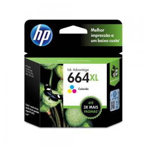 Cartucho HP 664 XL colorido