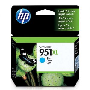 cartucho hp 951xl ciano
